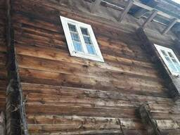 Barn wood of an old pine tree - photo 4