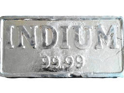 Indium edelmetaal | metaal indium merk InOO GOST 10297-94
