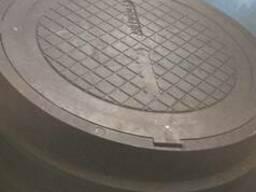Люки смотровых колодцев полимерпесчаные