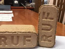 RUF-briketten van hoge kwaliteit