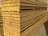 Sawn timber of pine. - фото 3