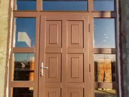 Собственное производство Деревянных окон и Входных дверей .