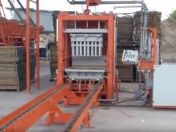 Вибропресс для производства тротуарной плитки, бордюров R300