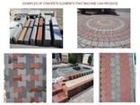 Блок-машина для производства тротуарной плитки R-400 Эконом - фото 8