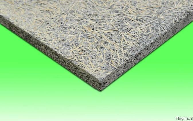 Wood wool cement board / Houtwolcement platen